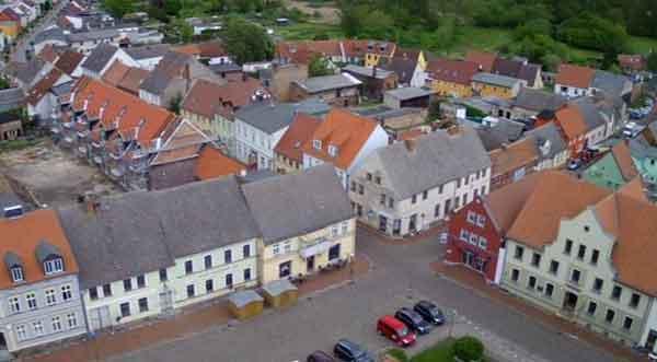 Live Stream Kamera Markt Stadt Usedom