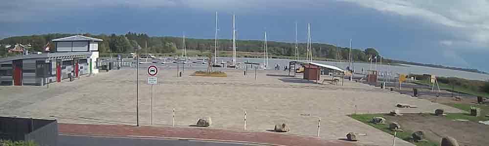 Hafen Usedomer See Zentrum