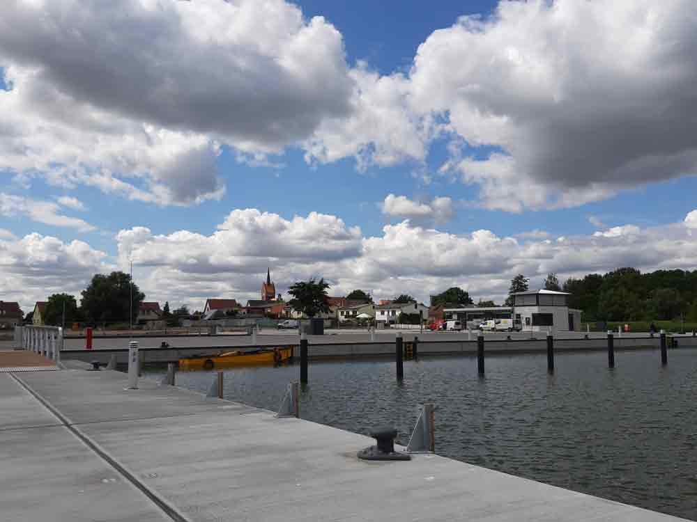 Perspektive Usedomer See Zentrum