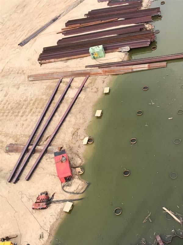 Baustellenbilder Usedomer See Zentrum