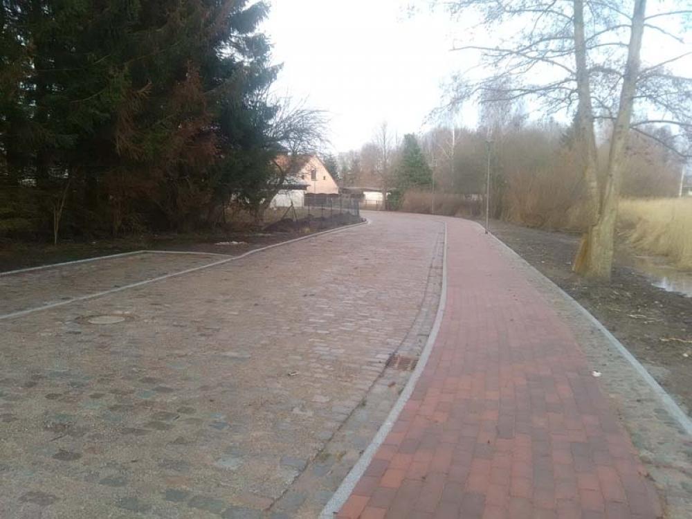 Hafenumbau Januar 2018 Stadt Usedom