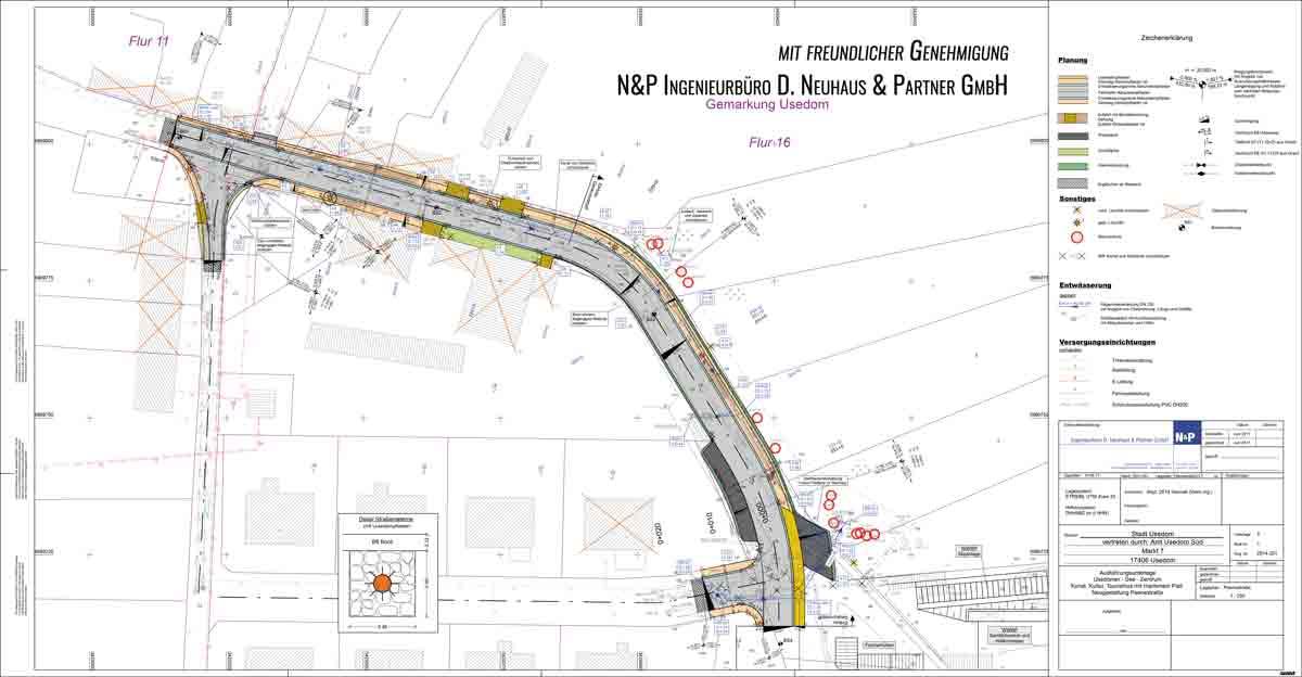 Bauplan Peenestraße