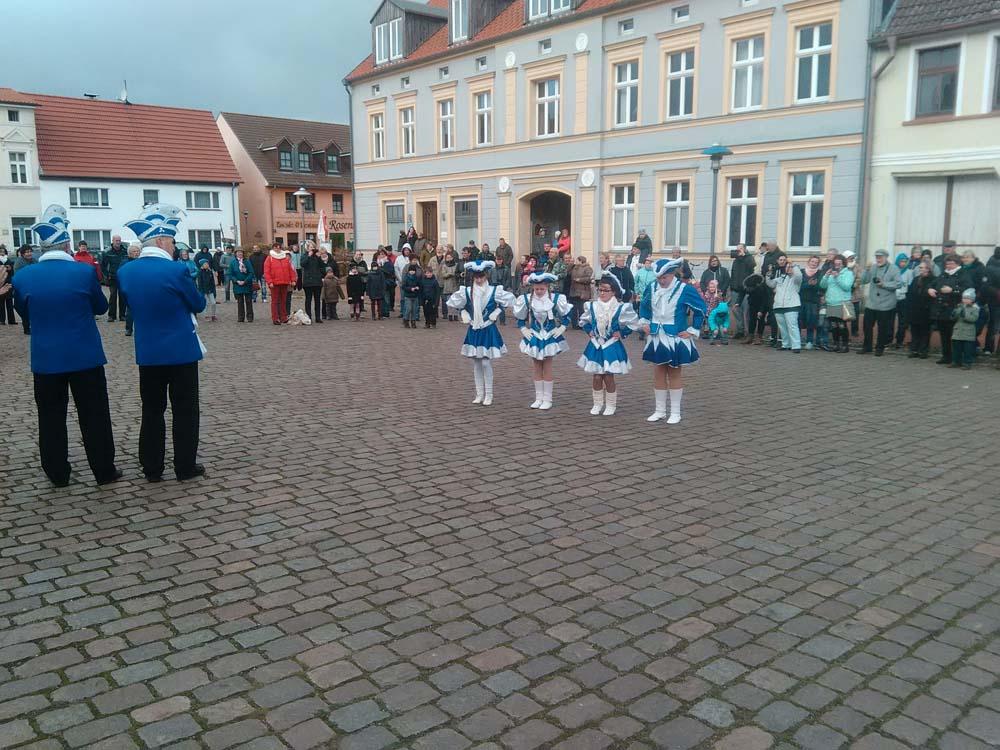 5. Jahreszeit hat begonnen in der Stadt Usedom