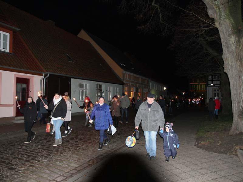 4. Lichterfest Stadt Usedom 2016