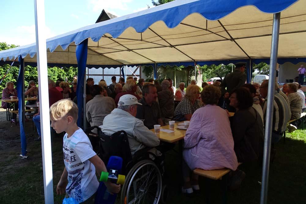 Sommerfest an der Wässering Stadt usedom
