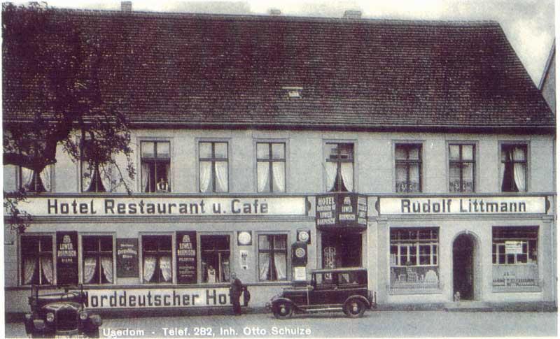 Hotel Norddeutscher Hof Stadt Usedom
