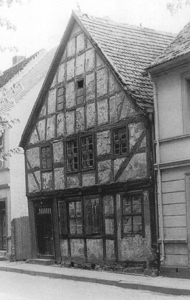 älteste Giebelhaus der Stadt Usedom