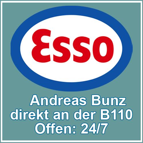 Esso Station Bunz Stadt Usdeom